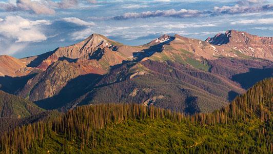 Pagosa Springs CO Mountains